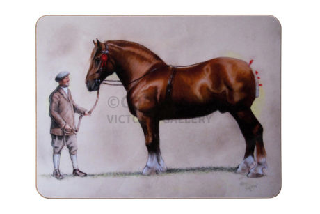 Cecil Aldin. Suffolk Punch. Original