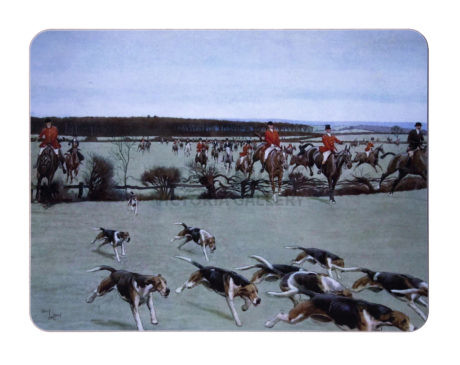 Cecil Aldin. The Cheshire Hunt. Away for Bath Wood