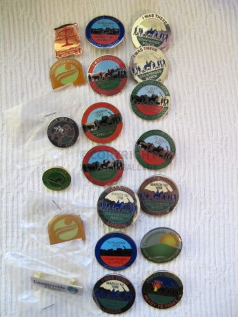 Original Waterloo Cup and Countryside Alliance Badges for sale