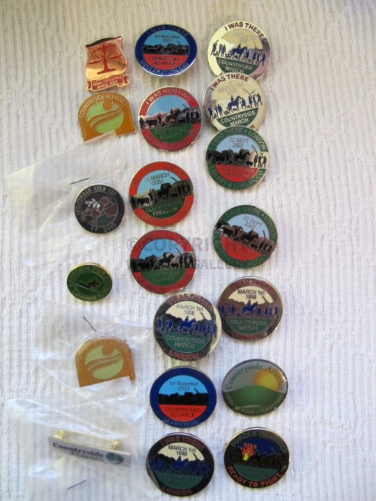 Countryside Alliance Badges