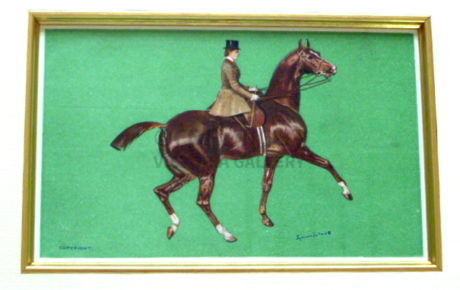 SIDE-SADDLE – OLYMPIA 1908