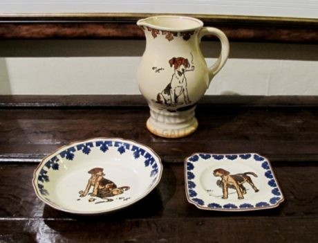 Cecil Aldin – Rare Signed Royal Doulton Pottery (2)