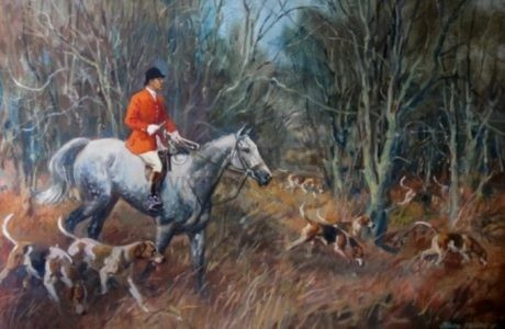 Huntsman and Hounds by John Theodore Fardley Kenney