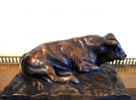 Bronze Bull  'Lazing Limo' by Andrew Edmonds