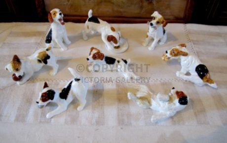 RARE Set of Royal Doulton – Cecil Aldin – Character Puppies (8)