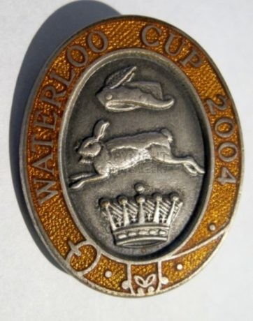 Collectible Waterloo Cup Badge 2004 – NEW