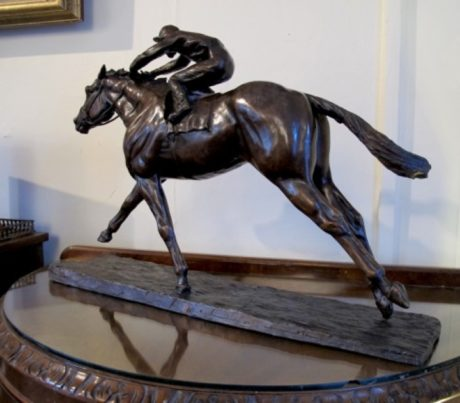 'FRANKEL' & Tom Queally by Philip Blacker (2)