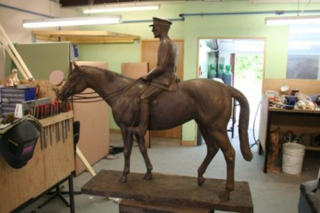 'General Seely' in Bronze by Philip Blacker