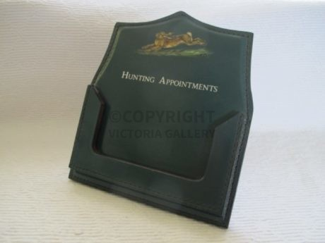 Bespoke Swaine & Adeney Hunting Appointment Holder