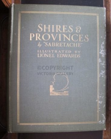 'Sabretache' Shires & Provinces Illustrated by Lionel Edwards