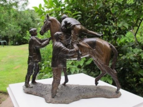Judy Boyt – Bronze 'Early Morning Exercise'