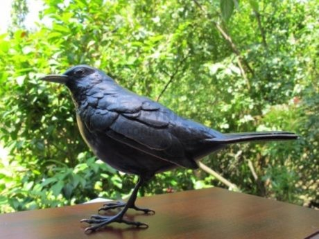 Steve Boss – Bronze Blackbird