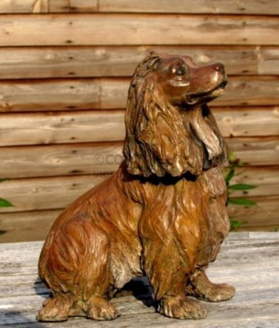 Juliet Cursham Bronze – Red Cocker Spaniel