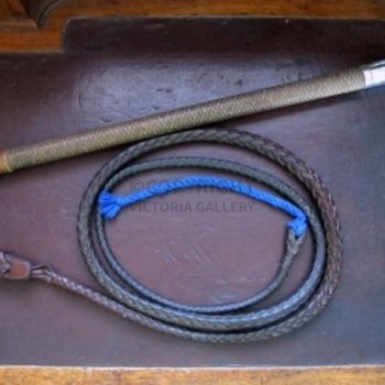 Vintage Swaine & Adeney Gents Hunting Whip complete