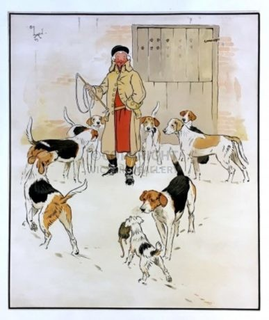 'Every Dog has his Day' by Cecil Aldin