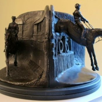 Judy Boyt – Bronze Badminton Horse Trials Sculpture