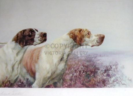 Large Signed 'Pair of Pointers' by Maud Earl