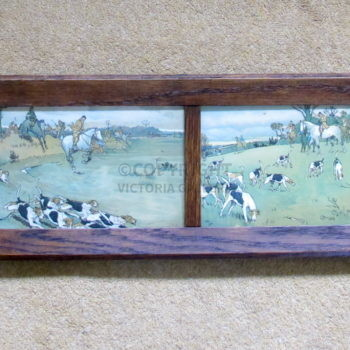 Cecil Aldin – Exquisite & Rare Set of The Fallowfield Hunt Miniatures