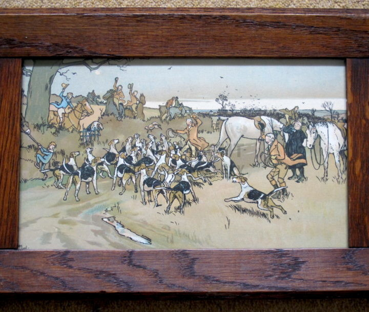 Set of The Fallowfield Hunt by Cecil Aldin