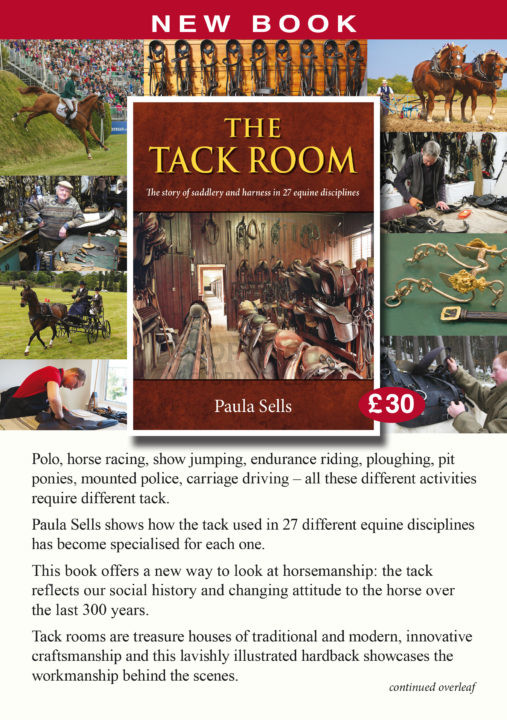 Book. The Tack Room by Paula Sells