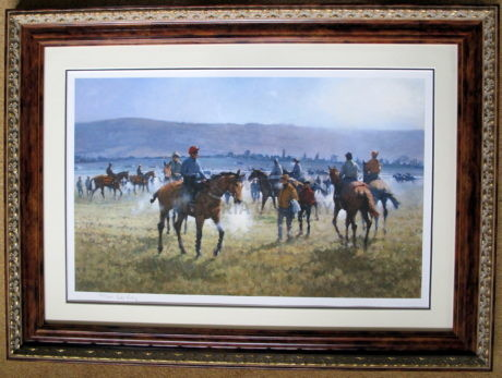 Peter Curling – Signed 'Early Morning Cheltenham'