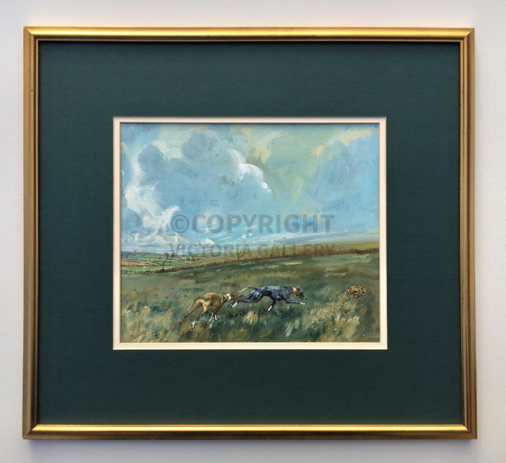 Hare Coursing by Michael Lyne 1938