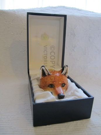 Halcyon Days Fox Mask Bonbonniere