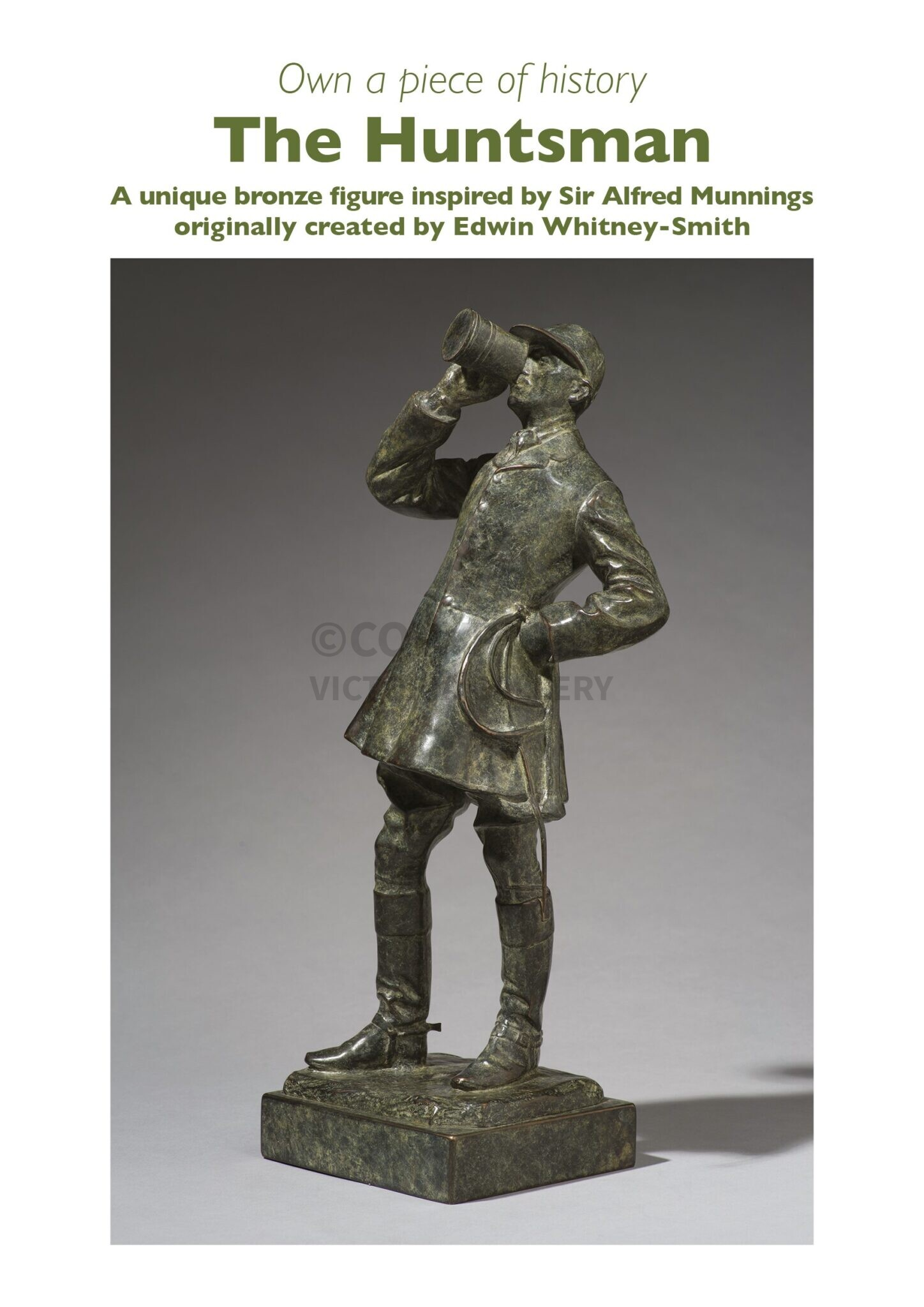 The Munnings Art Museum present 'The Huntsman' by Edwin Whitney-Smith