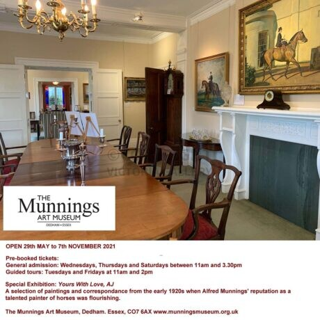 The Munnings Art Museum is now OPEN
