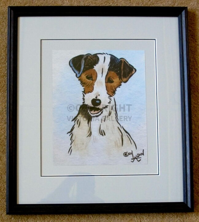 'You Rascal' by Cecil Aldin. Terrier